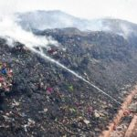 VMC finds temporary garbage dumping yard