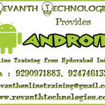 Wanted Android developer in Hyderabad