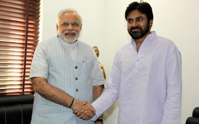 Jana Sena Party Entered Alliance with BJP In Andhra Pradesh