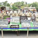 Gold, Guns, Horse, Cash Seized in Anantapur district